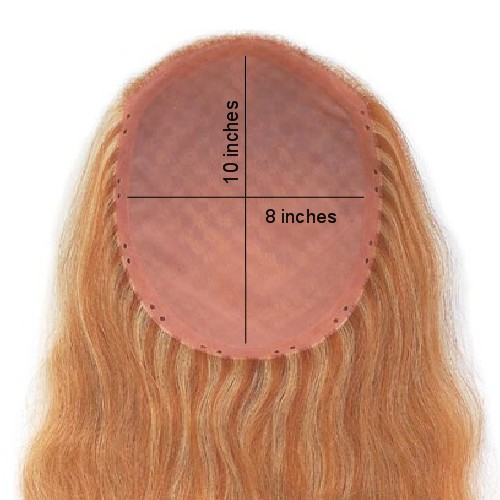 Enchantop Human Hair Extensions Topper Elite
